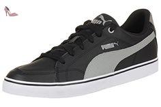 351912, Sneakers Basses mixte adulte- Noir (Black/White)- 9 UK 43 EUPuma