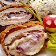 Egy finom Baconnel, sajttal és lilahagymával töltött sertésborda ebédre vagy vacsorára? Baconnel, sajttal és lilahagymával töltött sertésborda Receptek a Mindmegette.hu Recept gyűjteményében! Healthy Life, Healthy Eating, Hungarian Cuisine, Tasty, Yummy Food, Cordon Bleu, Filipino Recipes, Filipino Food, Bacon