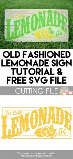 Free Lemonade cut file for Silhouette and Cricut Silhouette Vinyl, Silhouette Cameo Projects, Silhouette Machine, Silhouette Design, Silhouette Files, Silhouette Curio, Silhouette America, Vinyl Crafts, Vinyl Projects