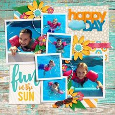 funinthesun #ScrapbookingSimple