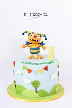 Tarta Henry el monstruo feliz - Henry hugglemonster Cake How To Make Cake, Food To Make, Fondant, Henry Hugglemonster, Birthday Ideas, Birthday Cake, Monsters Inc, Party Stuff, First Birthdays