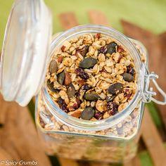 Granola, Quinoa, Acai Bowl, Cereal, Spicy, Oatmeal, Breakfast, Fitness, Acai Berry Bowl