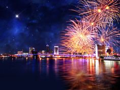 New Year's Eve Fireworks in HD | 1024 x 768