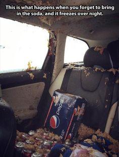 forgot the Pepsi