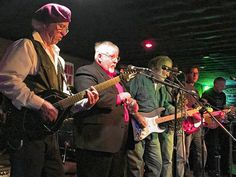 """Every Monday night for 30 years the stage at Dolphin Lounge has come to life with """"Blues Jam"""" sessions, featuring musicians like Tom Bowling, Sean Carney and Ray Fuller. Some guy named Eric Clapton has even been known to grace its stage."""