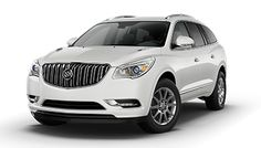 2016 Enclave Mid-Size Luxury SUV: Interior Photos - Buick