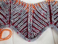 Ravelry: rubis63's Briochevron Blanket