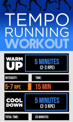 Tempo Run | 9 Quick Running Workouts You Can Do On A Treadmill Or Outdoors