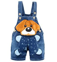 Baby Boys Girls Jeans Overalls Shorts Toddler Kids Denim Rompers Cute Cartoon Bebe Jumpsuit For Summer Bib Pants Clothes - Kid Shop Global - Kids & Baby Shop Online - baby & kids clothing, toys for baby & kid Salopette Short, Salopette Jeans, Baby Outfits, Kids Outfits, Summer Outfits, Cute Baby Boy, Overall Shorts, Baby Buns, Boy Outfits