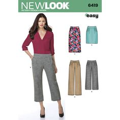 Find a pattern for Misses' Easy Pants and Skirts at Simplicity, plus many more unique patterns. Visit today!