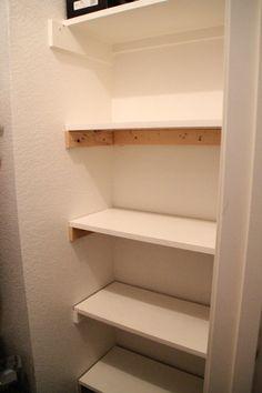 basic diy closet shelving pinterest closet shelving shelving rh pinterest com building shelves in a closet diy shelves in a closet