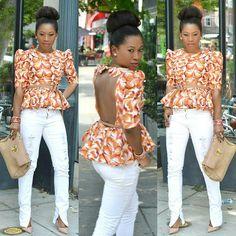 25 Fantastic African, Ankara & Asoebi & jumpsuit & kente styles that you will really love African Print Dresses, African Dresses For Women, African Print Fashion, African Women, Fashion Prints, African Prints, African Tops, African Wear, African Attire