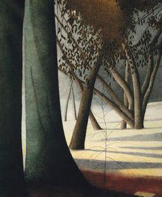 Léon Spilliaert (Belgian,1881-1946) Trees, N/D