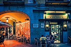 Chocolateria San Gines in Madrid, Spain