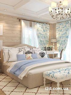 Интерьер спальни в стиле прованс. Киев