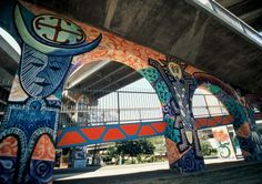 Barrio Logan is blowing up on the art side of things with really great ethnic art and culture.