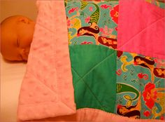 Mermaid Baby Stroller Quilt or Toddler by BearHugBabyQuilts, $22.00