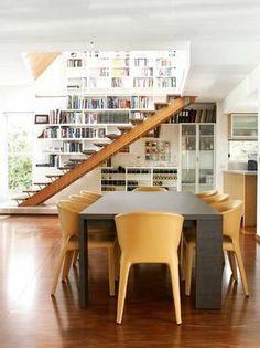 Nice 'under stairs' storage