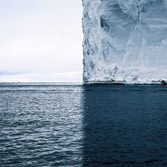 This Iceberg's Shadows Divide The World Into 4 Perfect Quadrants