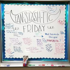Another week of whiteboard responses in the books!#miss5thswhiteboard