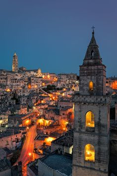 Did a project on this place for class and went there on spring break--all my profs tried to talk me out of it. So glad I didn't listen...Ah, Matera, Italy