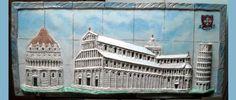 Bassorilievo Piazza dei Miracoli Pisa di Umberto De Mattia