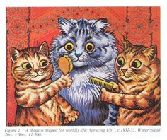 Louis Wain: A Shadow Draped For Worldly Life (1932 - 33)