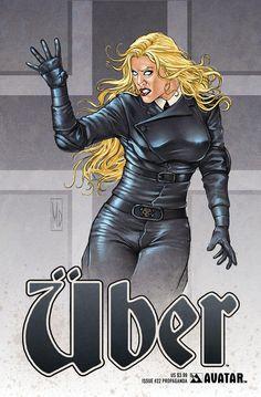 Cover for Uber (Avatar Press, 2013 series) #22 [Regular Cover - Caanan White]