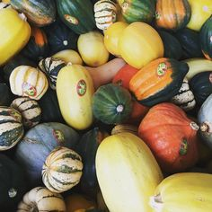 We got a barrel full of autumn jewels from @ladybug_organics in front of the store. Spaghetti squash with Pumpkin Pasta Sauce by @cucinaantica for dinner tonight?  Yummy and easy! #fall #seattle #capitolhill #centraldistrict #whatsfordinner #gocoop #coopmonth #squash