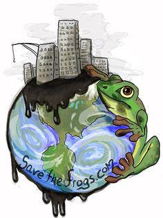 Environmental Art SAVE THE FROGS! Art Contest www.savethefrogs.com/art/2011