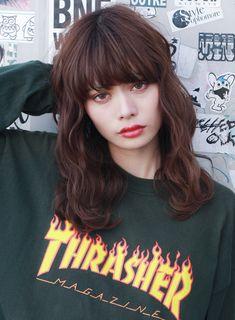 ピンクグレージュ×ウェーブセミロング☆|髪型・ヘアスタイル・ヘアカタログ|ビューティーナビ