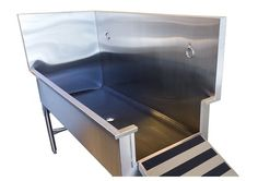 Superbe Stainless Steel Dog Grooming Sinks For Your Pet