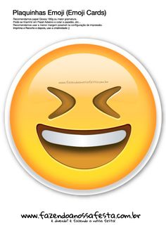 Plaquinhas Emoji Whatsapp 62