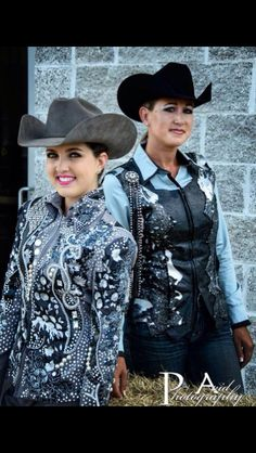 Grey jackets Western Show Clothes, Horse Show Clothes, Horse Clothing, Riding Clothes, Cowboy Outfits, Riding Outfits, Western Wear, Western Riding, Showmanship Jacket