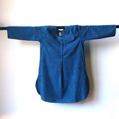 Cargo Indigo Collection: Button Front Tunic