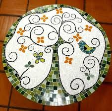 Image result for mesa de mosaico