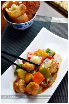 Salseando en la cocina: Cerdo agridulce (cocina china)