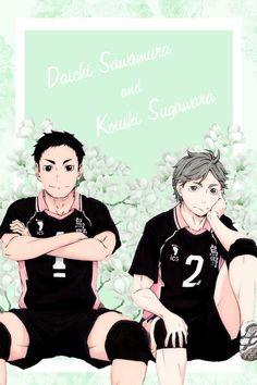 Haikyuu!! ~~ Sugawara Koushi & Sawamura Daichi ~~ DaiSuga