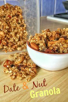 Meatless Monday- Date & Nut Granola