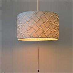 【送料無料】 天井照明 提灯 筒型ペンダントライト 楮和紙のシェード