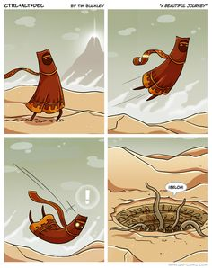 May the Fourth be with you.  Ctrl Alt Del comic featuring Journey and Star Wars.