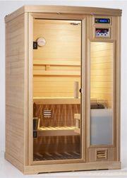 Wi sauna on pinterest saunas sauna room and steam room for Basement sauna kit