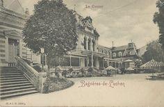 Le Casino - Luchon - www.hexia.fr Big Ben, Photos, Louvre, Building, Poster, Travel, Antique Post Cards, Construction, Trips