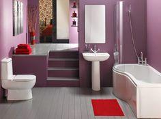 schémas de couleurs et accessoires pour Salle de bains
