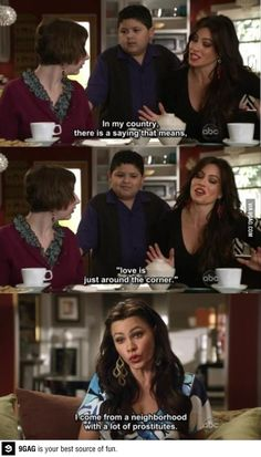 Sofia Vergara from Modern Family hahaha