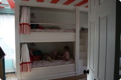 Logan's new bunk beds