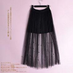 2016 Fashion Sexy tulle fish tail skirt women High waist Midi Knee Length Chiffon lace skirt plus size Jupe Female Tutu Skirts