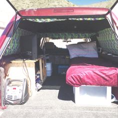 Simpleinexpensive bed platform pics expedition portal my truck camping set up sciox Choice Image