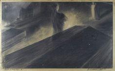99 DUILIO CAMBELLOTTI (ROMA, 1876 - 1960) FARINATA (INFERNO CANTO X)