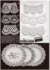 doilies - or borders
